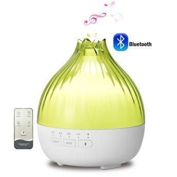 difuzor aromaterapie uleiuri esentiale bluetooth telecomanda