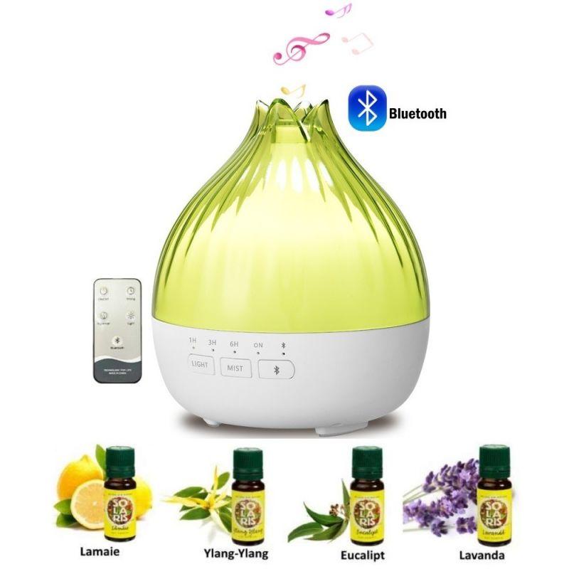 kit aromaterapie difuzor uleiuri esentiale